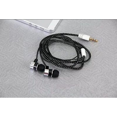 New 3.5mm In-Ear Stereo Headphone Headset Super Bass Music Earphone Metal Earbud