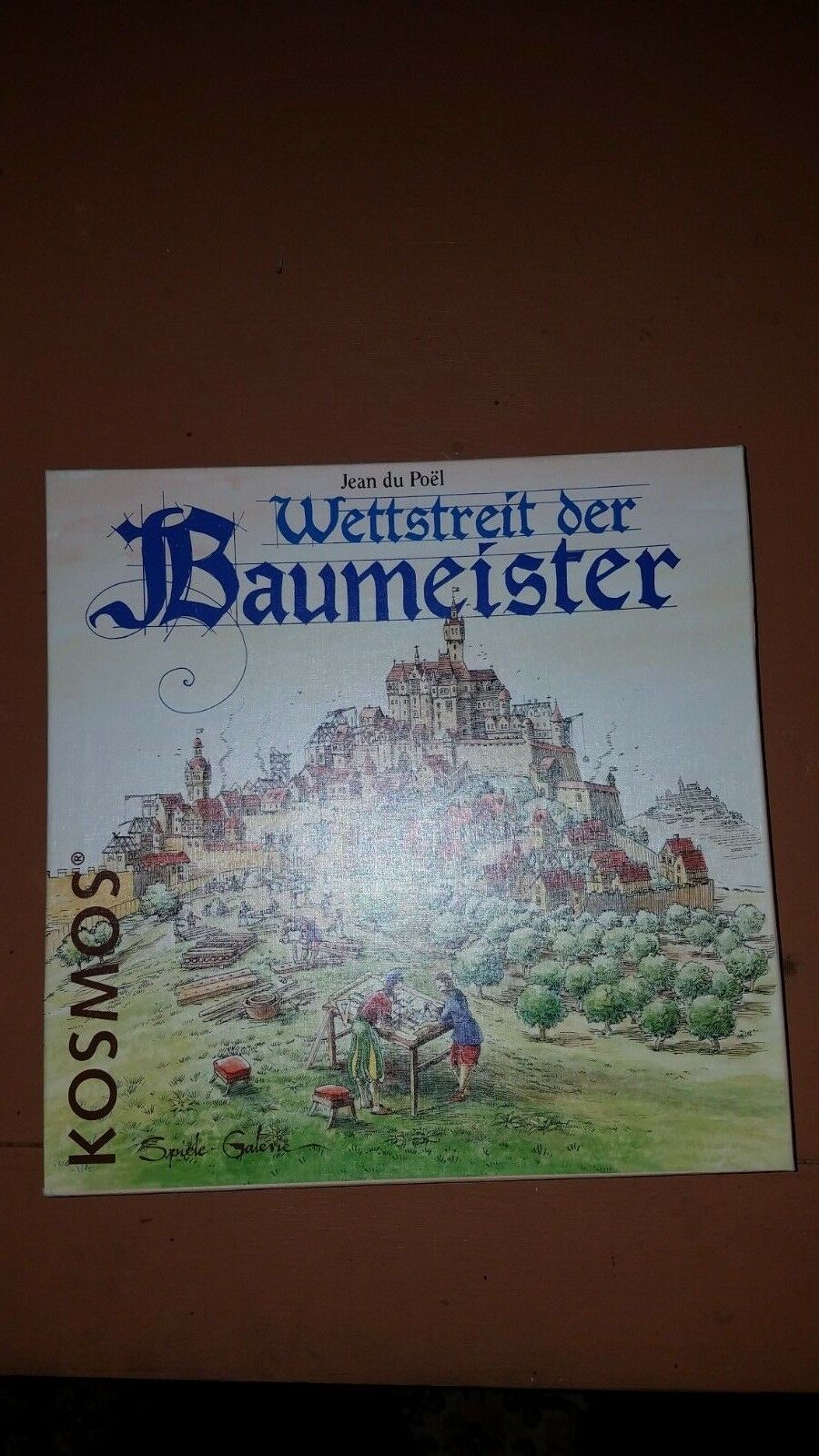 Kosmos  Complete Board Game - WETTSTREIT DER BAUMEISTER English Rules