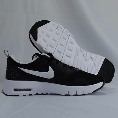 Nike Air Max Tavas 844104 001 Black White Kids PS Shoes | eBay