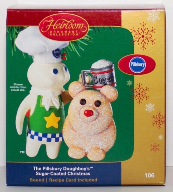 The Pillsbury Doughboy Sugar Coated Christmas Carlton Cards Ornament Cookie