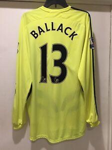 size 40 65f74 69450 Details about Michael Ballack 2007-2008 Away Jersey Chelsea FC Premier  League Formotion