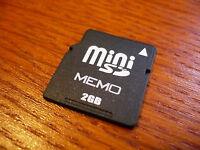 2gb Minisd Card Mini Sd Memory Card