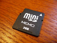 2gb Minisd Card Mini Sd Memory Card