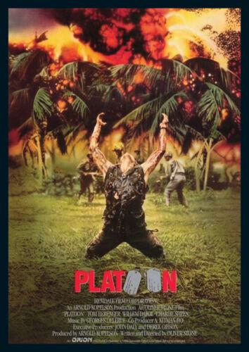 Platoon Repro Film POSTER