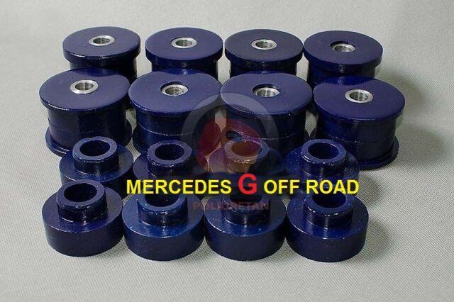 MERCEDES G 460/461/463 Off Road Polyurethan  16 Stück +4 Stück Panhard  37 mm
