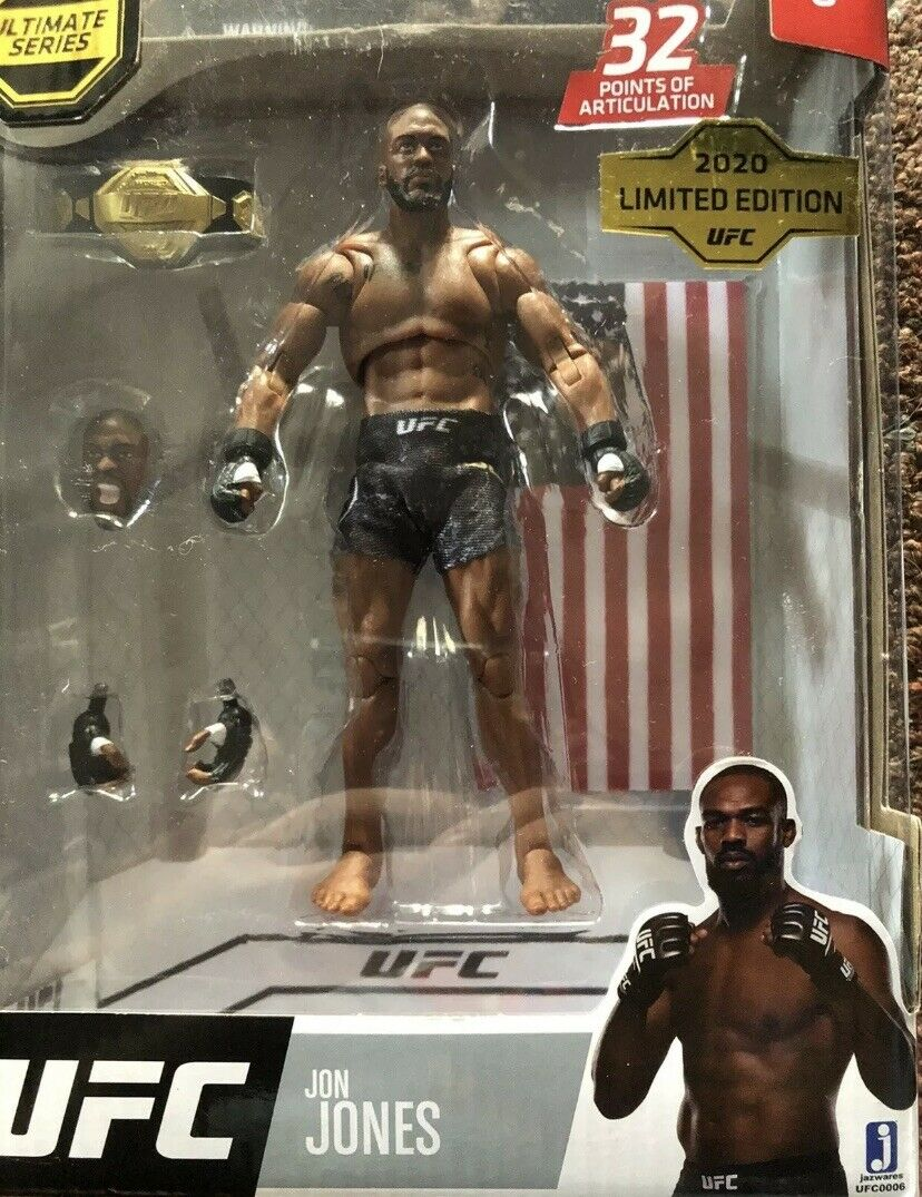 UFC Ultimate Series 2020 Limited Edition Conor McGregor 6in Figurine Ships Fast!
