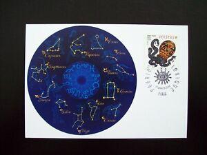 2014_carte Maximum_fdc_fÉerie Astrologique-verseau. Gagner Une Grande Admiration