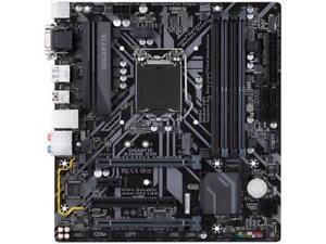 GIGABYTE B360M D3H LGA 1151 (300 Series) Intel B360 HDMI SATA 6Gb/s USB 3.1 Micr