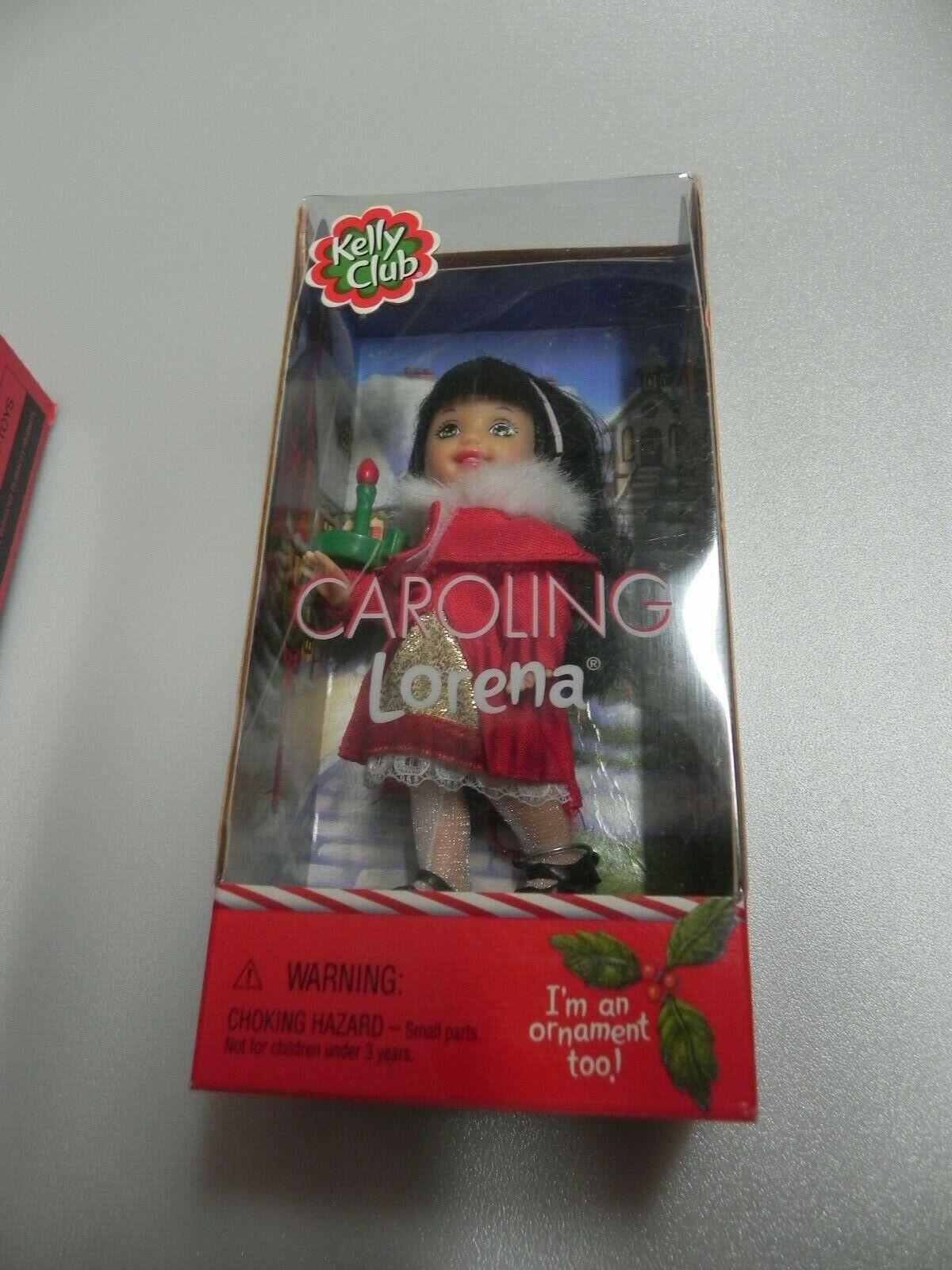 Ornament NIB Caroling Lorena Doll 2004 Mattel Christmas holidays