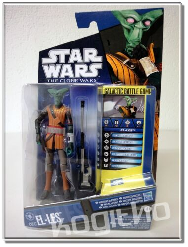 Hasbro Star Wars The Clone Wars CW47 El-Les Figur Zubehör 28523 Action Figur