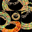 100-Natural-Ethiopian-Welo-Fire-Opal-Roundel-Beads-Necklace-strand-Chain thumbnail 1