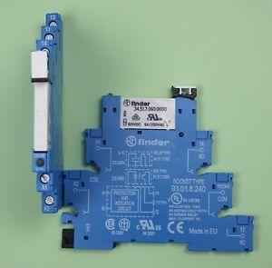38-51-8-230-0060-Finder-Koppel-Relais-230V-AC-1-Wechsler-6A