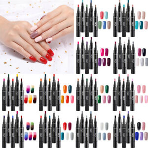 5X-LEMOOC-5ml-Gel-Nail-Pen-Thermal-Color-Changing-Glitter-Soak-Off-UV-Gel-Polish