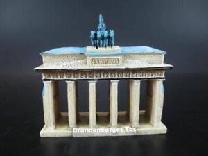 Berlin-Brandenburger-Tor-Souvenir-Poly-Modell-Polyresin-10-cm-Germany-New