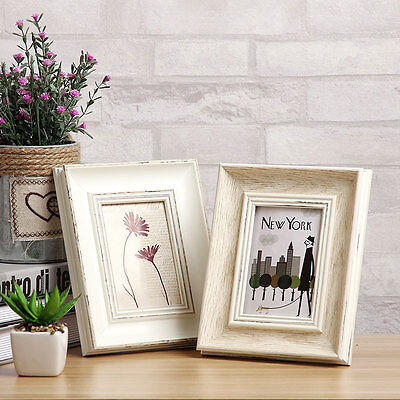 """""""Soft Breeze"""" Resin Photo Frame with Picture Home Decor Simple Family Frame Gift"""