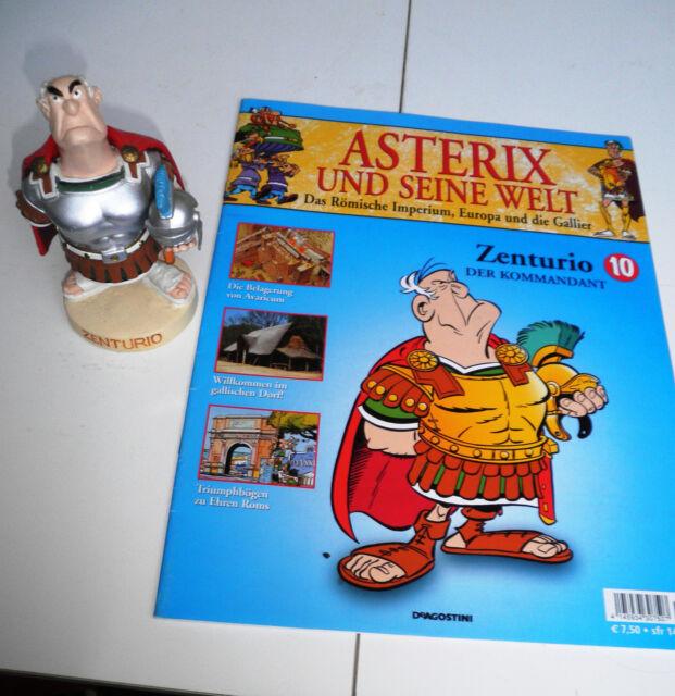 Asterix Plastoy Figur Zenturio + Heft