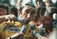 Eddy Merckx Genuine Hand Signed 12X8 Photo TOUR DE FRANCE WINNER (E)