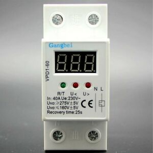 35mm-40A-220V-50-60HZ-Over-and-Under-Voltage-Protective-Device-Relays-2P