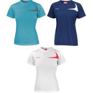 Ladies-Women-Spiro-Dash-Training-Sport-Lightweight-Short-Sleeve-T-Shirt-Top