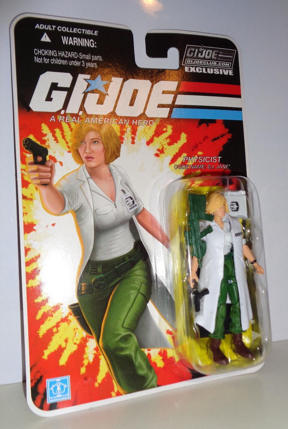 GI JANE GI Joe Cobra Collector Club Subscription Exclusive MOC FSS