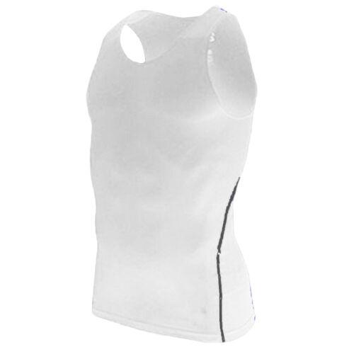 Herren Kompressionsshirt Funktion Sport Unterhemd Fitness Gym Ärmellos Tank Top
