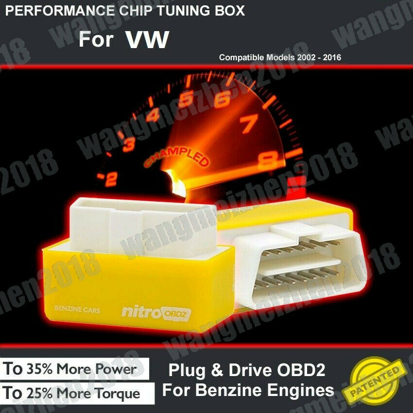 POWER BOX CAR AUTO CHIP TUNING ECU REMAPPING REMAP PERFORMANCE UPGRADE For VW