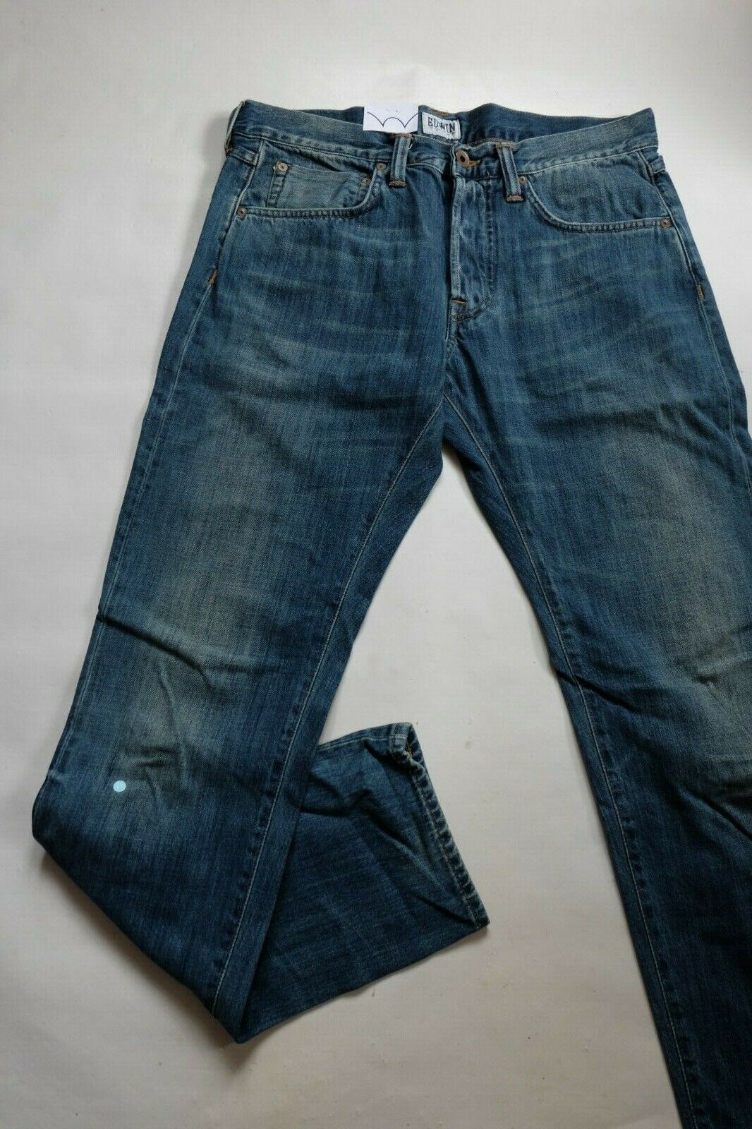 JEANS EDWIN HOMME ED 55 RELAXED (White Listed Indigo Mid Sifted Used)   W31 L32