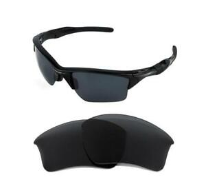 NEW POLARIZED REPLACEMENT BLACK XL LENS FOR OAKLEY HALF JACKET 2.0 ... 764beabac6cc