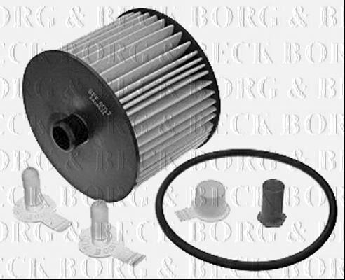 Borg /& Beck Filtro de Combustible para Ford Kuga Diesel 2.0 100KW
