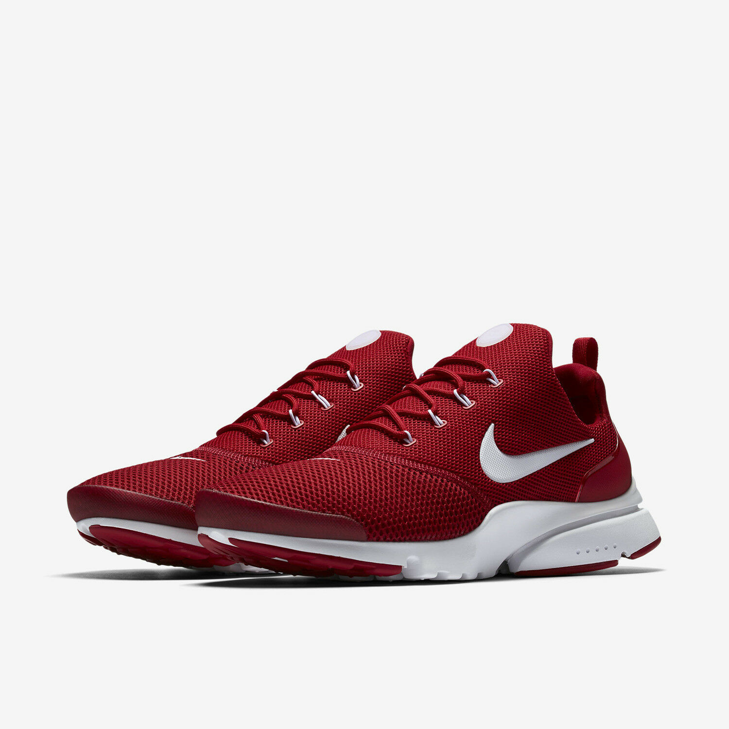 Uomo Nike Presto Fly 908019-600 Gym Red Brand New Size 10