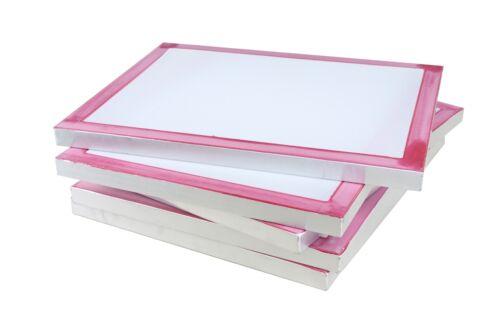 Siebdruckrahmen 80T weiss in 73x53cm Drucksieb A3 Siebdruck Textildruck Sieb