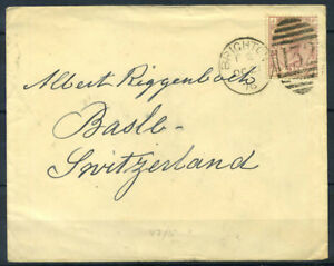 Grossbritannien-1876-Brief-100-Brighton-Basel