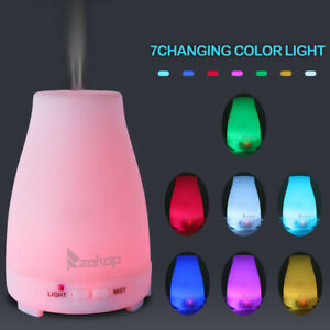 7 Color 200ml LED Aroma Diffuser Ultrasonic Mist Humidifier Essential Oil 12W