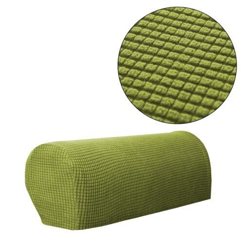 2stk Sofa Armlehnenbezug Stretch Sofaschoner Armlehnen Sesselschoner Sesselbezug