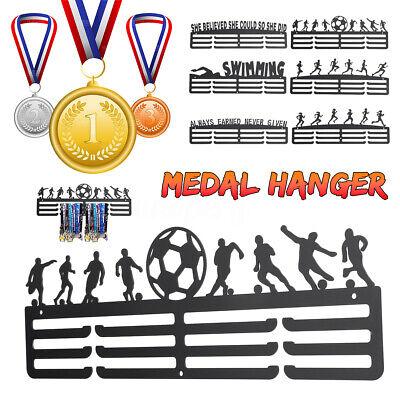 Personalised Medal Hanger Medal Holder RUNNING Display Rack 3 Tier Hanger Sport
