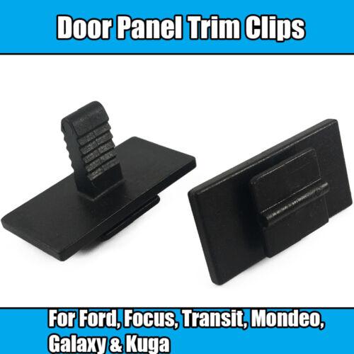 20x Clips Pour Ford Focus Mondeo Galaxy Kuga Transit Garniture Porte Panneau Latéral Clips