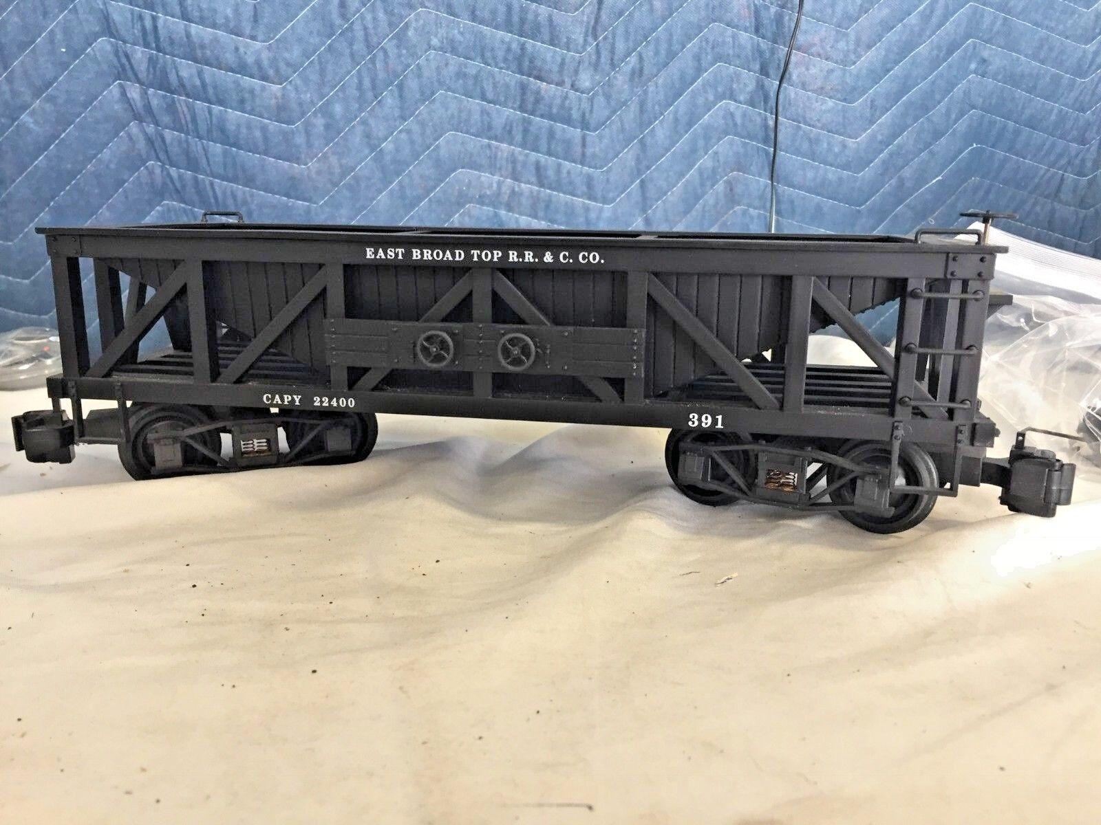 Delton East Broad Top R&R&C Co. coal car