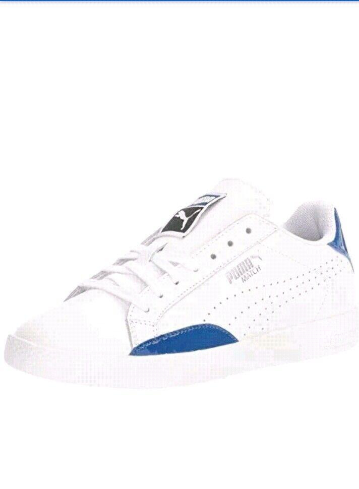 Puma Match Basic 362726 03 Women shoes 8.5  Puma White True bluee NWB Authentic