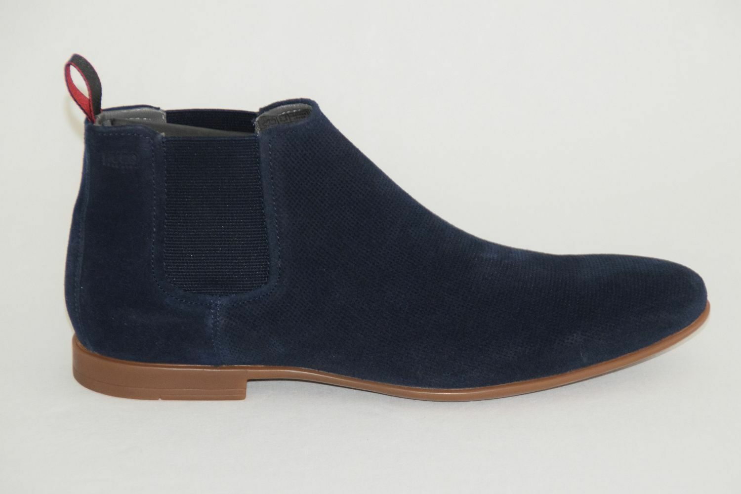 HUGO BOSS Stiefel, Mod. Parcelsio, Gr. EU 42,5 / 9,5 UK 8,5 / US 9,5 /  Navy c24ce7