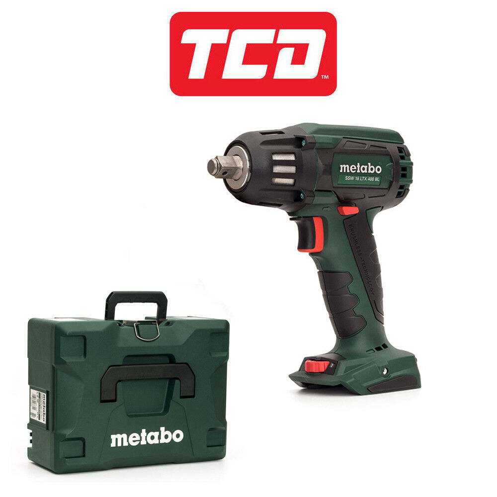 Metabo SSW18LTX400BL Brushless Impact Wrench Bare Unit 602205840-M With Case