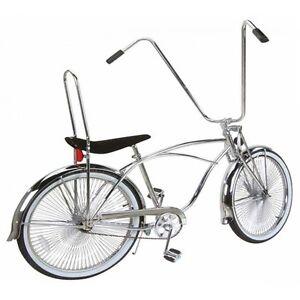 New 26 Lowrider Bike Beach Cruiser With 144 Spokes Wheels Black