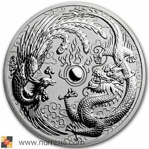 AUSTRALIA-1-Dollar-2017-Dragon-y-Phoenix-1-Onza-de-plata-S-C