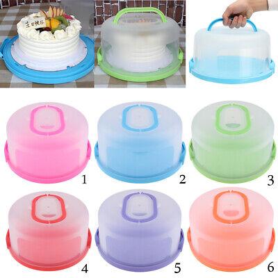 Plastic Cupcake Cake Case Muffin Pod Dome Holder Box Dessert Container Party
