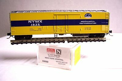 N Scale Freight Cars Tireless Micro Trains Mtl 69080 New York Central Nyc 51' Mechanical Reefer #1025 N Factories And Mines