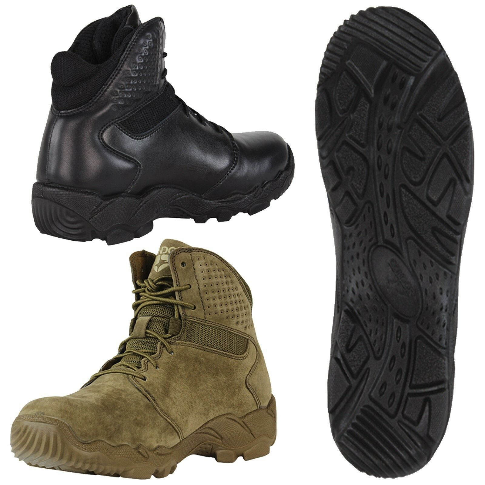 Condor 235001 Tactical Hiking Working Keaton Leather Waterproof Combat Boots