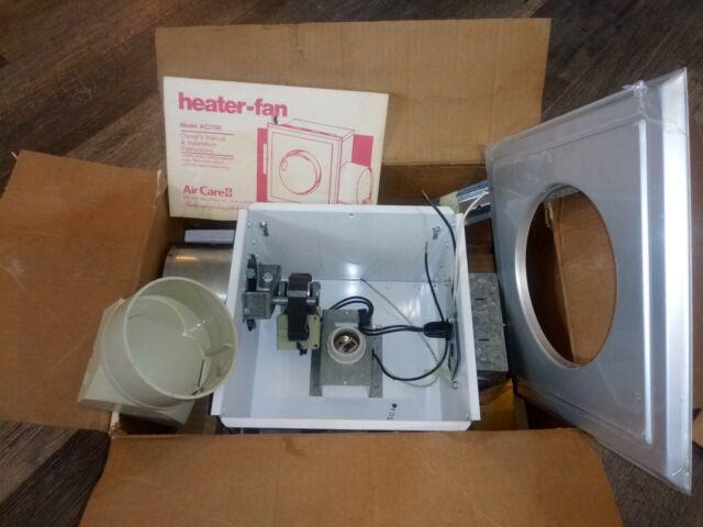 Vintage Air Care Bath Duo Heater Fan Model AC2100 Open Box ...