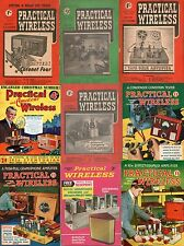 Collection of 72+ Practical Wireless & Vintage Audio Magazines