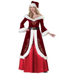 Mrs-Claus-Costume-Adult-Miss-Santa-Christmas-Fancy-Dress