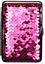 縮圖 3 - Champ Cigarette Case 14 King Size - Metal/Fabric Glitter - Rubber Band - 2
