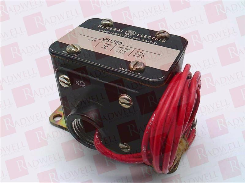 GENERAL ELECTRIC CR115A16   CR115A16 (USED TESTED CLEANED)